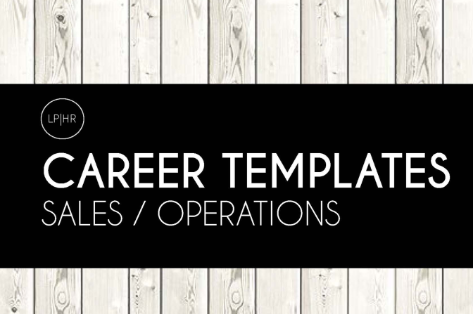 8 Sample Business Career Templates