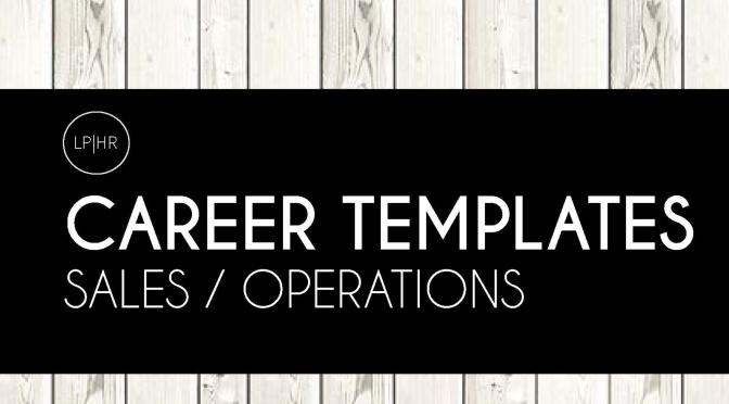 8 Sample Business Career Templates